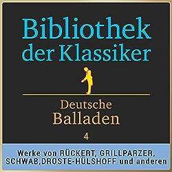 Deutsche Balladen, Teil 4 (Bibliothek der Klassiker)