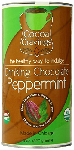 (Cocoa Cravings Drinking Chocolate, Peppermint, 8 Ounce)