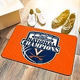 University of Virginia Cavaliers 2019 College Basketball National Champions Door Mat