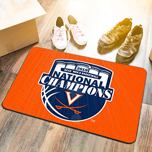 University of Virginia Cavaliers 2019 College Basketball National Champions Door Mat