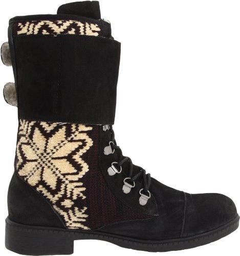 Kelsi Dagger Brooklyn Womens Ilya Fair Isle Boot Black zhG2r1yAY