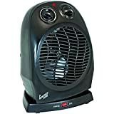 Comfort Zone Oscillating Heater Fan