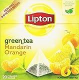 Lipton - Te Verde Con Mandarina 20X1.8 gr