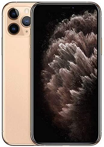 Apple iPhone 11 Pro, 64GB, Gold - for Cricket Wireless (Renewed)