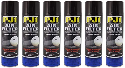 PJ1 15-22 Foam/Guaze Air Filter Cleaner (Aerosol), 15 oz (6)