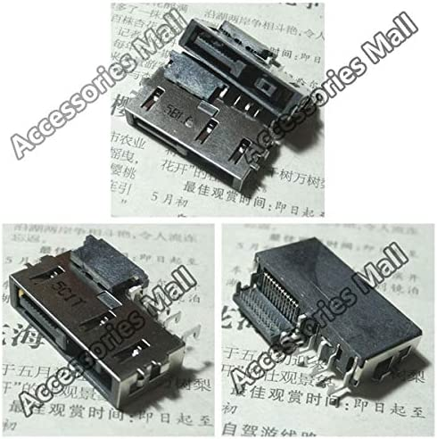 Cable Length: 5 pcs Computer Cables 1-10pcs DC Power Jack Connector for Lenovo ThinkPad E560 E565 E465 E450 E455 E450C E450 E550 E555 S3 Yoga 14 DC Connector