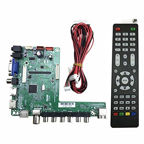 V56 Universal LED Driver Board Module 32-65inch TV Board 1920x1080 by BONATECH