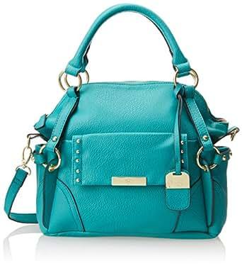 Jessica Simpson Encino Satchel Top Handle Bag,Teal,One Size