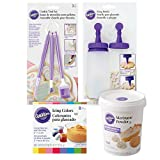Wilton Sugar Cookie Decorating Kit, 15-Piece - Tool Set, Meringue Powder, Icing Colors, and Decorating Bottle