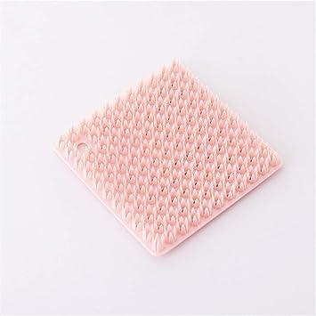 JoyFan - Esponja de Silicona para Limpiar Platos y esponjas, Juego de Cepillo de Cocina: Amazon.es: Hogar