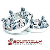Squirrelly Hubcentric Wheel Spacers Adapters 5x114.3 / 12x1.5 / 67.1mm Center Bore / 20mm Thick (2 Pack)