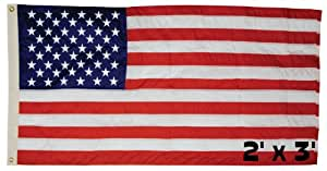 Ddi Perma-Nyl 2'X3' Nylon U.S. Flag (Pack Of 24)