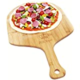 Pizza Royale 5☆ Ethically Sourced Premium Natural Bamboo Pizza Peel, 19.6 inch x 12 inch