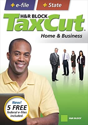 H&R Block TaxCut 2008 Home & Business + e-file