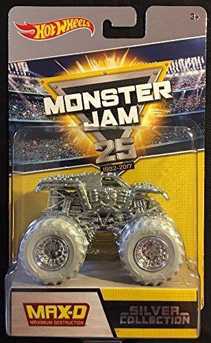 Hot Wheels Monster Jam 25th Anniversary Collection Max-D (Maximum Destruction) Die-Cast Vehicle