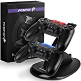 Fosmon PS4 Controller Charger, High Speed Dual USB Charging Dock, DualShock 4 Charger Docking Station Stand with LED Indicator for Sony PlayStation 4 / Slim / Pro For Sale