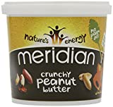 Meridian Natural Crunchy Peanut Butter - No added sugar and no added salt - 1kg