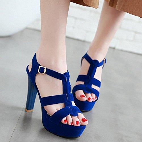 Piattaforma blu Sandali Mode Donna Zanpa T8qIWwEZ