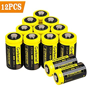 Amazon Com Tenergy Propel 3v Cr123a Lithium Battery High
