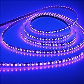 Amazon alarmporetm 164ft 3528 smd uv purple ultraviolet 395 alarmporetm 164ft 3528 smd uv purple ultraviolet 395 405nm 600leds led aloadofball Choice Image