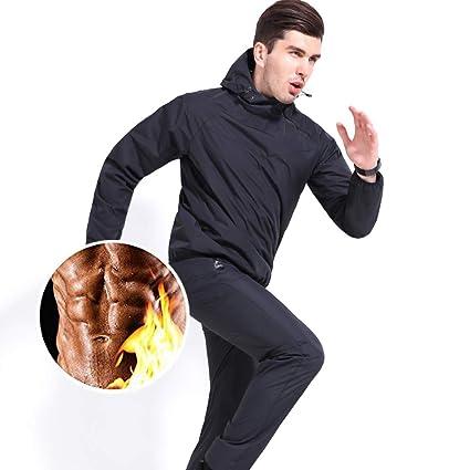MINIRAH! Sauna Suit Hombres Traje de sudoración Fitness Traje de ...