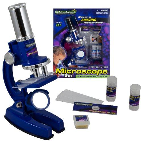 WowToyz Jr. Science Explorer - Microscope Set, 23 Piece
