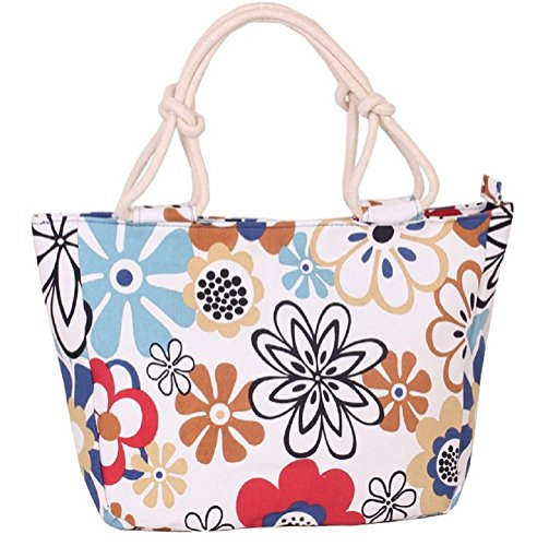 Clothing Tote Womens Beach Holiday Canvas Summer Samanthajane 18 Bag gxXSdwqX