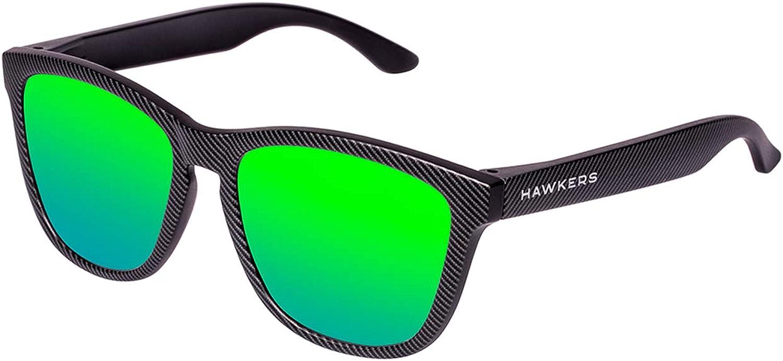 HAWKERS · CARBONO · Emerald · Gafas de sol para hombre y mujer ...
