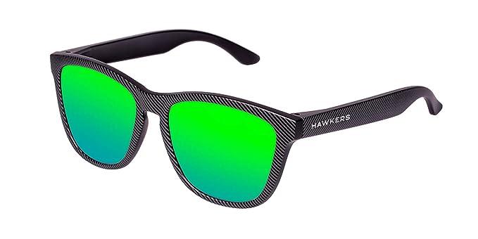 HAWKERS · CARBONO · Carbon · Emerald · Gafas de sol para hombre y mujer