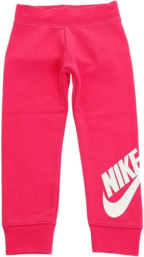 Nike Kids Baby Girl's Sportswear Futura Fleece Jogger (Toddler)