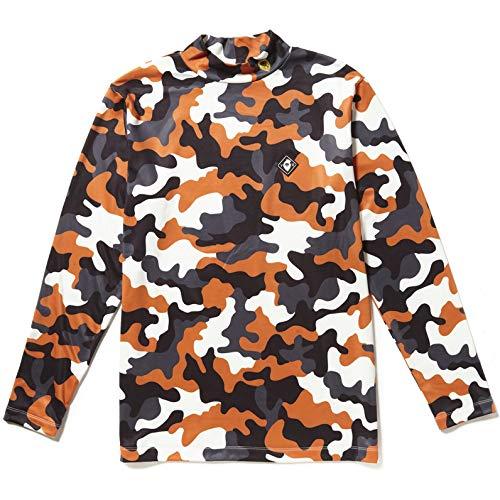 ヴィトゥエルヴ V12 長袖シャツポロシャツ 長袖モックネックシャツ LL(XL) オレンジカモ(ORG-CAMO) B07HMN61JM