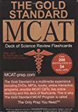 img - for The Gold Standard new MCAT CBT Deck of Flashcards (Science Review), 2010 Ed. book / textbook / text book