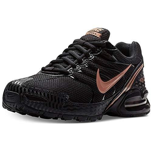 NIKE Women's Air Max Torch 4 Running Shoe, Black/Metallic Rose Gold, Size 6 M US