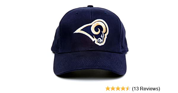 b897b8643e9c0 Amazon.com   NFL Los Angeles Rams LED Light-Up Logo Adjustable Hat   Sports  Related Merchandise   Clothing