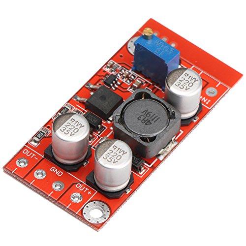 - DROK DC Voltage Regulator Boost Converter 3-6V to 5-32V Step Up Volt Module Adjustable Positive Negative Dual Output