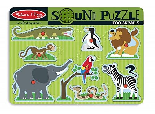Zoo Animals Sound Puzzle - 8