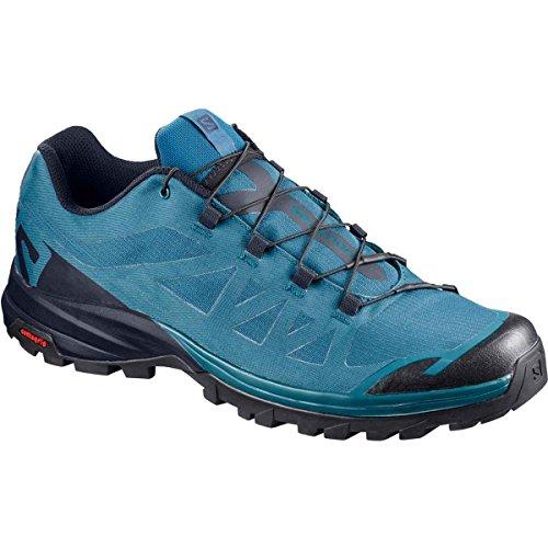 Salomon Men's Low Rise Hiking Boots, Blue Moroccan