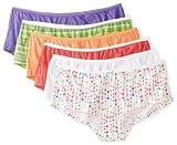 Fruit of the Loom Women's 6 Pack Boyshort Panties
