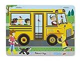 Melissa & Doug 739 The Wheels On The Bus Sound Puzzle (6Piece), Multicolor
