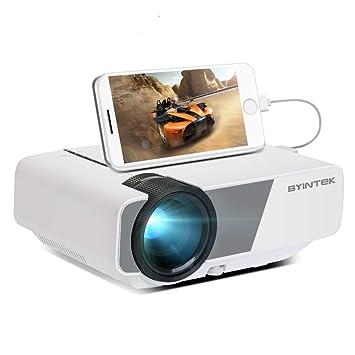 Amazon.com: BYINTEK Sky K1plus - Proyector de cine en casa ...