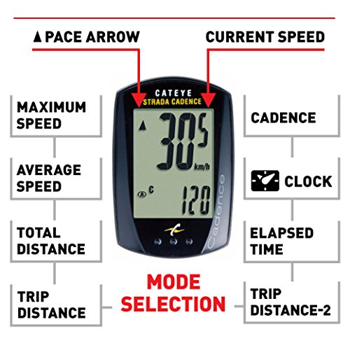 CatEye - Strada Cadence Wired Bike Computer by CatEye (Image #1)