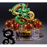 DragonBall z action figures 1 Figurarts Dragon +7 Crystal Balls 4.5cm +1 Bracket shelf toys for boys 10 and up girls adults