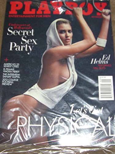PLAYBOY COVER MODEL HEATHER DEPRIEST OF GUESS ADS-SEPT. 2015 ISSUE Single Issue Magazine – January 1, 2015