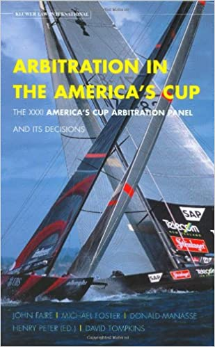 Book Arbitration In The Americas Cup