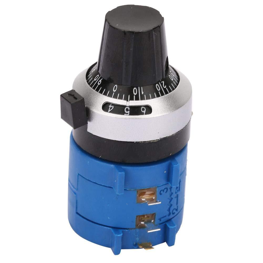 Cadran de comptage haute pr/écision pour film carbone Nitrip 2W Potentiom/ètre bobin/é 3590S-2-101L 100Ohm
