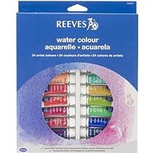 Reeves 24-Pack Water Color Tube Set, 10ml