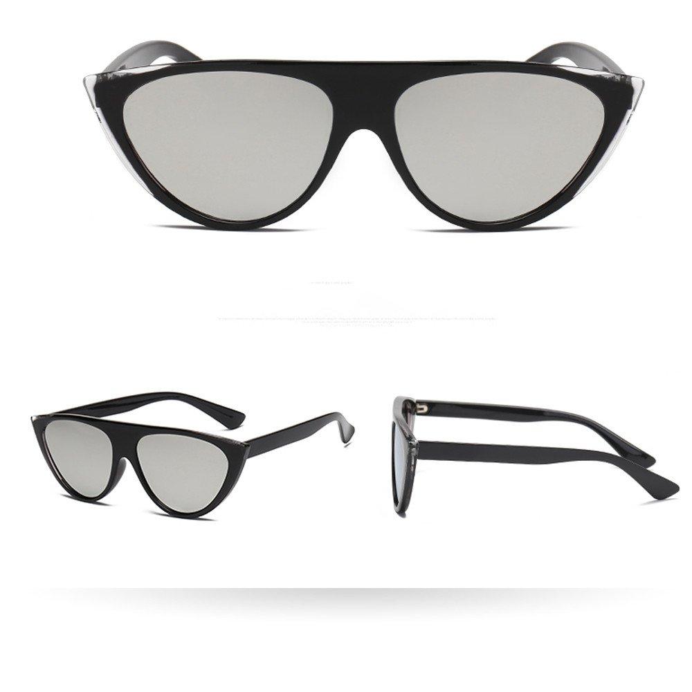 ♔IAMUP Women Man Vintage Cat Eye Sunglasses Women Men Outdoor Retro Eyewear Travel Fashion Ladies Man