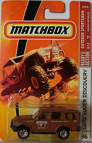 Matchbox 2007 MBX Outdoor Adventure 1:64 Scale Die Cast Metal Car #96 - Brown Color Outback Adventures Sport Utility Vehicle SUV Land Rover Discovery by Mattel ()
