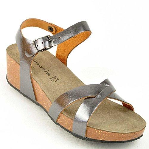 Tamaris1-1-28219-34-957 - Plataforma Mujer marrón - bronce