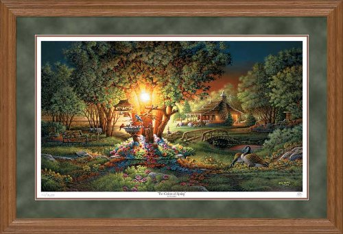 Wild Wings The Colors of Spring Framed Limited Edition Print by Terry Redlin